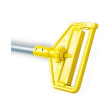 Invader Side Gate Mop Handle with Fiberglass Handle/Yellow Plastic Head