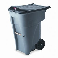 Brute 65-Gal Rollout Heavy-Duty Waste Container