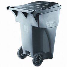 Brute 95-Gal Rollout Heavy-Duty Waste Square Container