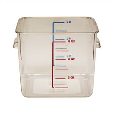 192 Oz. Square Storage Container