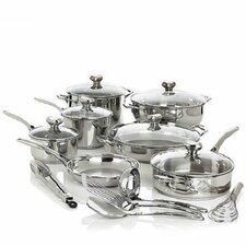 Bistro Elite 18 Piece Cookware Set