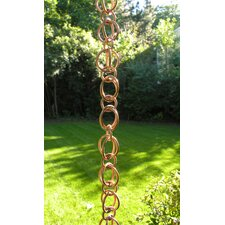Double Loop Rain Chain