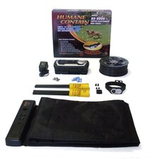Extra Value Combo Systems Humane Contain Super Dog Electric Fence and Scat Pad