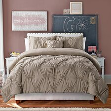 Monica Comforter Set in Taupe