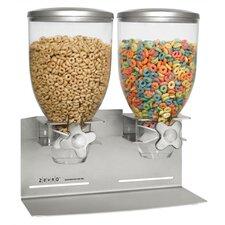17.5 Oz. Double Canister Designer Edition Dry Food Dispenser