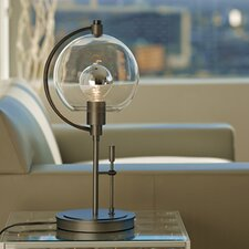 "Pluto 19.3"" H Table Lamp with Dome Shade"