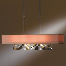 Twofold Rect 4 Light Kitchen Island Pendant