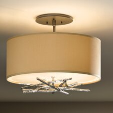 Brindille 3 Light Semi-Flush Mount