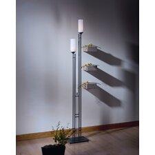 """Metra Twin 74.7"""" Torchiere Floor Lamp"""