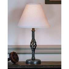 "Twist Basket 16.5"" H Table Lamp with Empire Shade"