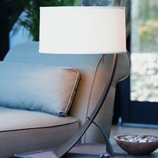 "Stasis Contemporary 1 Light 28.3"" H Table Lamp with Drum Shade"