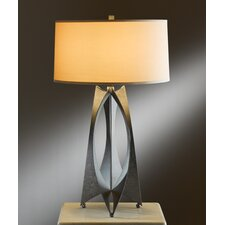 "Moreau 1 Light 25.6"" H Table Lamp with Drum Shade"