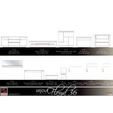 Beleuchtung Floyd 36 für Bar Regalkommoden