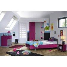 Schlafzimmer-Set Strype, 90 x 190 cm