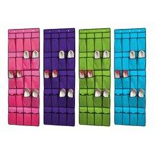 20-Pocket Overdoor Shoe Organizer