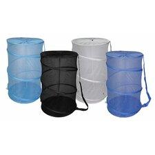 Mesh Barrel Laundry Hamper