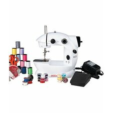 Mini Sewing Machine with Sewing Kit