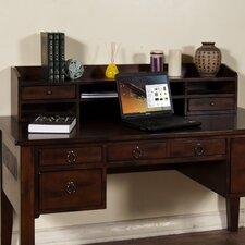 "Santa Fe 10.5"" H x 49"" W Desk Hutch"