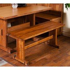 Sedona Rustic Oak Kitchen Bench