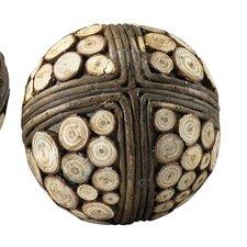 Slice Decorative Ball Sculpture