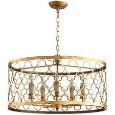 Romeo 5 Light Drum Pendant