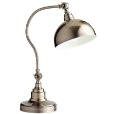 "Chemile 20.5"" H Table Lamp with Bowl Shade"