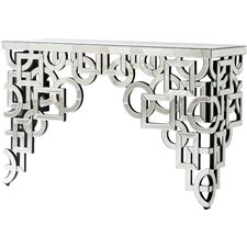 Volos Mirroed Console Table