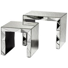 Alessandro 2 Piece Nesting Tables