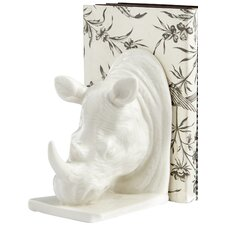 Rhino Book End