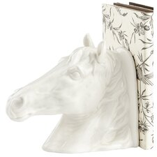 Stable Stallion Book End