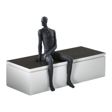 Posing Man Shelf Sitter Figurine