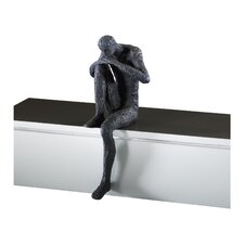 Thinking Man Shelf Sitter Figurine