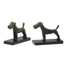 Scottish Dog Bookends (Set of 2)