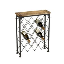 Hudson 9 Bottle Floor Wine Rack