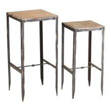 Camelback 2 Piece Nesting Tables