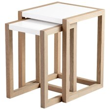 Becket 2 Piece Nesting Table