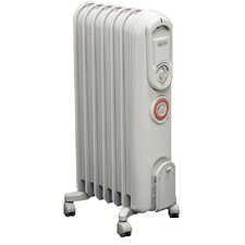 Vento 1500 Watt Portable Electric Convection Radiator Heater with Programmable Timer