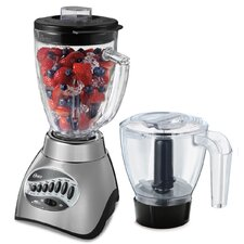 16 Speed Glass Jar Blender