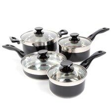 Cramerton 8 Piece Stainless Steel Cookware Set