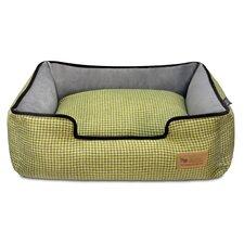 Houndstooth Lounge Dog Bed