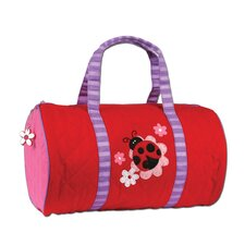 "Ladybug Quilted 15"" Kids Duffel"