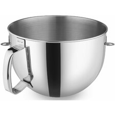 6 Qt. Polished Stainless Steel Bowl with Comfort Handle