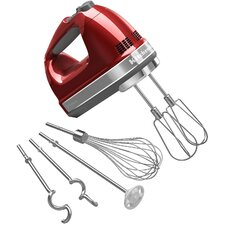 9 Speed Hand Mixer with Turbo Beater Accessories