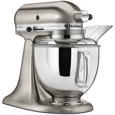 Custom Metallic 5 Qt. 325 Watt Tilt Back Head Stand Mixer