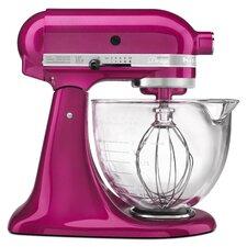 Artisan Design Series 5 Qt. Stand Mixer with Glass Bowl