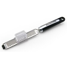 Gourmet Fine Zester Grater with Pusher
