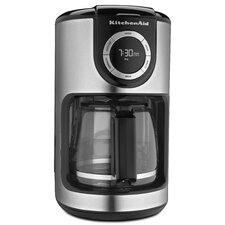 12 Cup Glass Carafe Coffee Maker