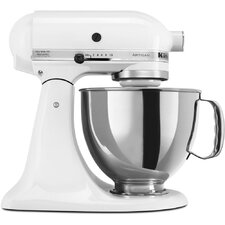 Artisan Series 5 Qt. Stand Mixer with Stainless Steel & Glass Bowls