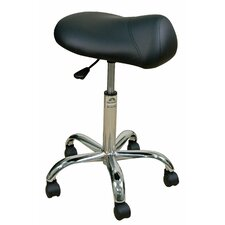 Height Adjustable Professional Saddle Stool