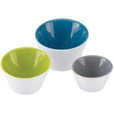 The Burbs 3 Piece Slant Serving Bowl Set